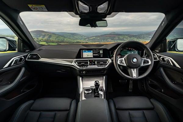BMW 4 Series interior front