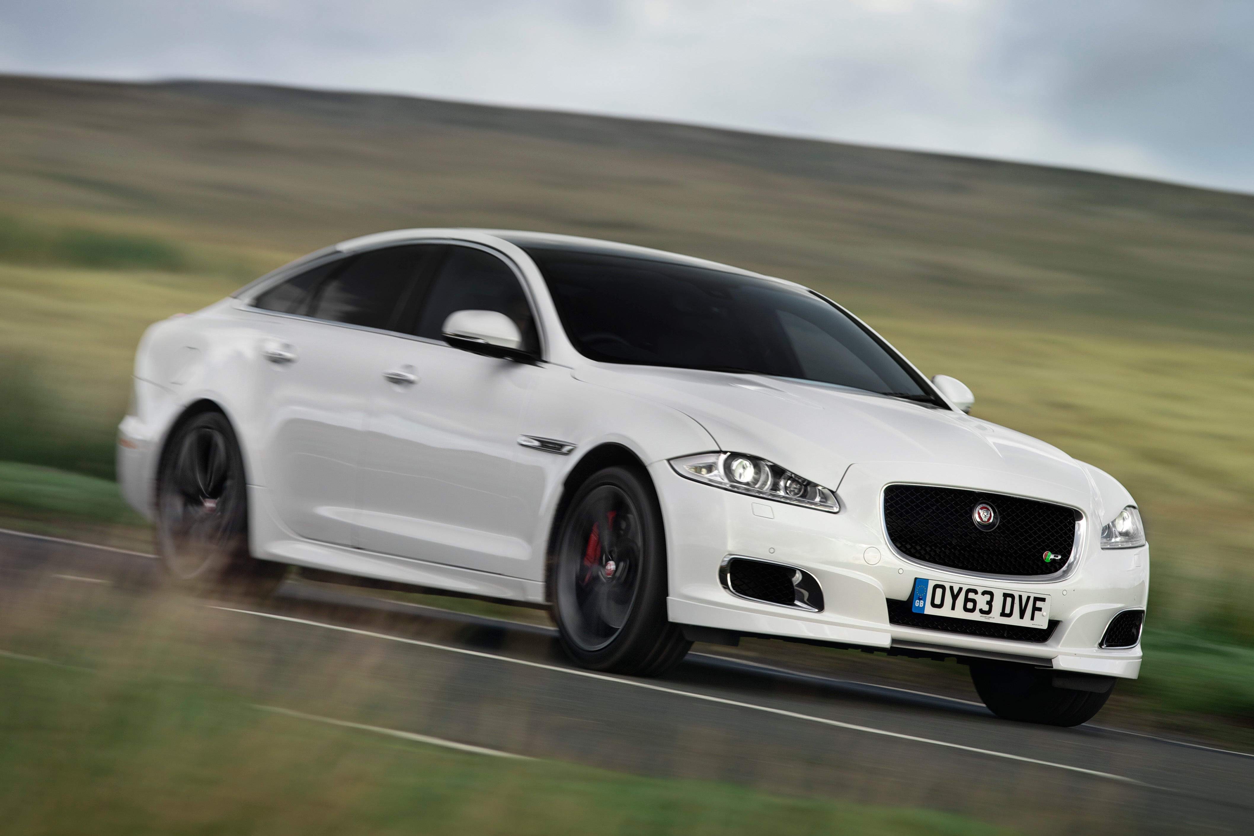 Jaguar XJ white