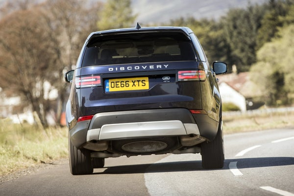Land Rover Discovery  2017back exterior