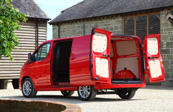 Ford Transit Custom bootspace open
