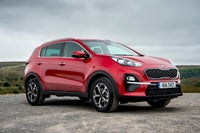 Kia Sportage right exterior