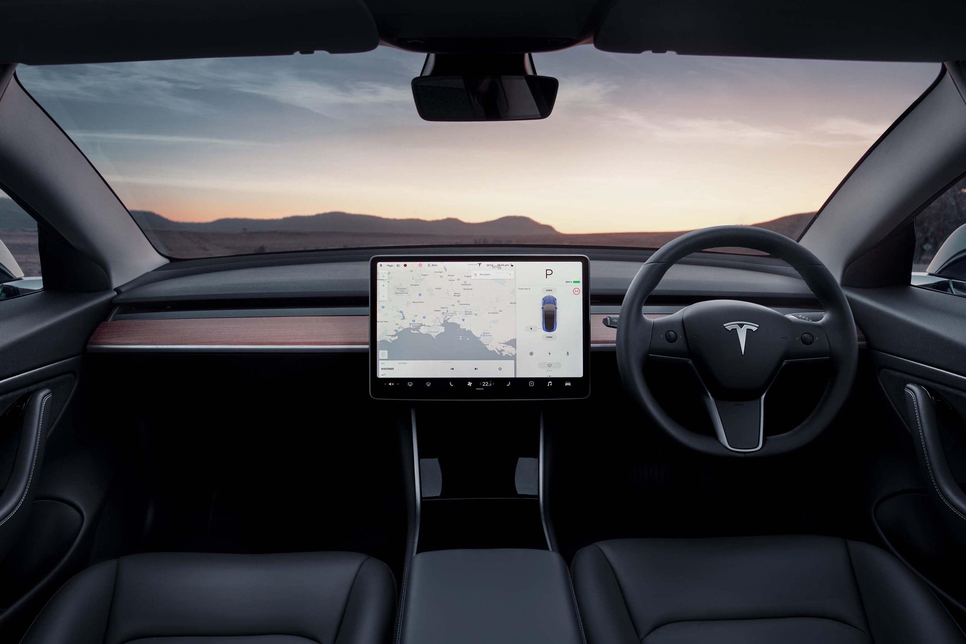 Tesla Model 3 Car Infotainment