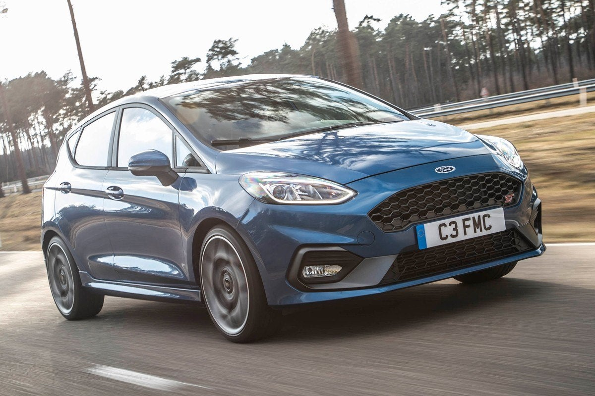 Ford Fiesta ST Driving