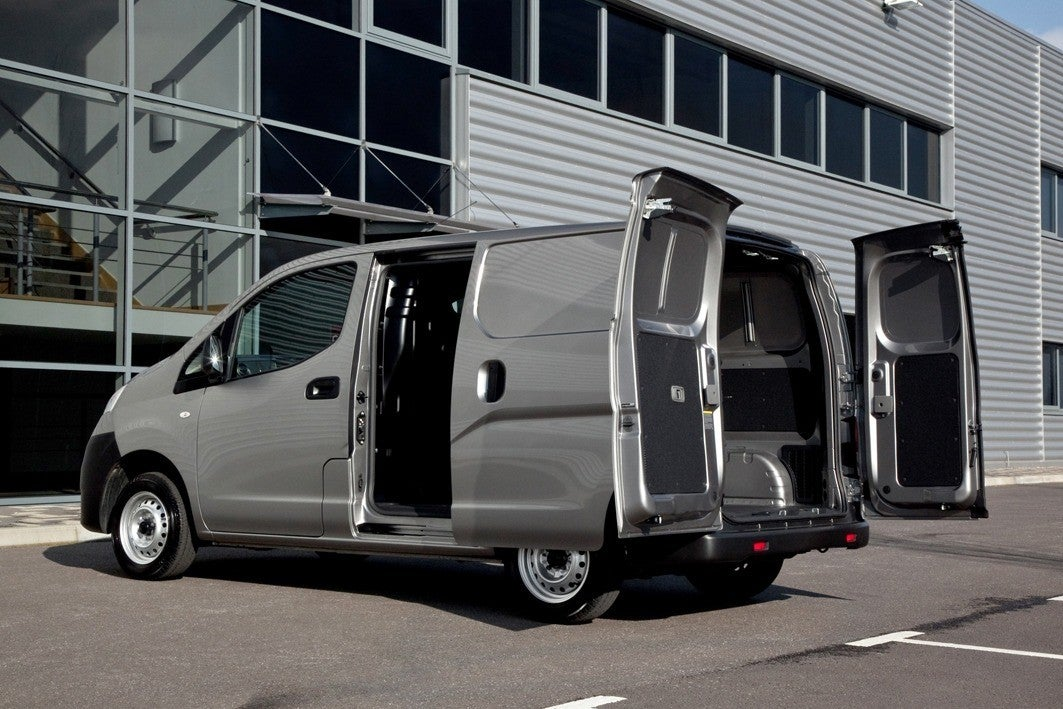 Nissan NV200 bootspace