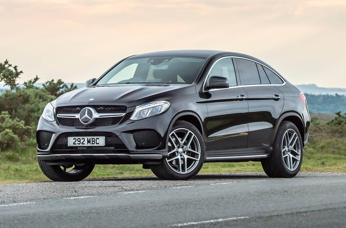 Mercedes GLE Coupe black