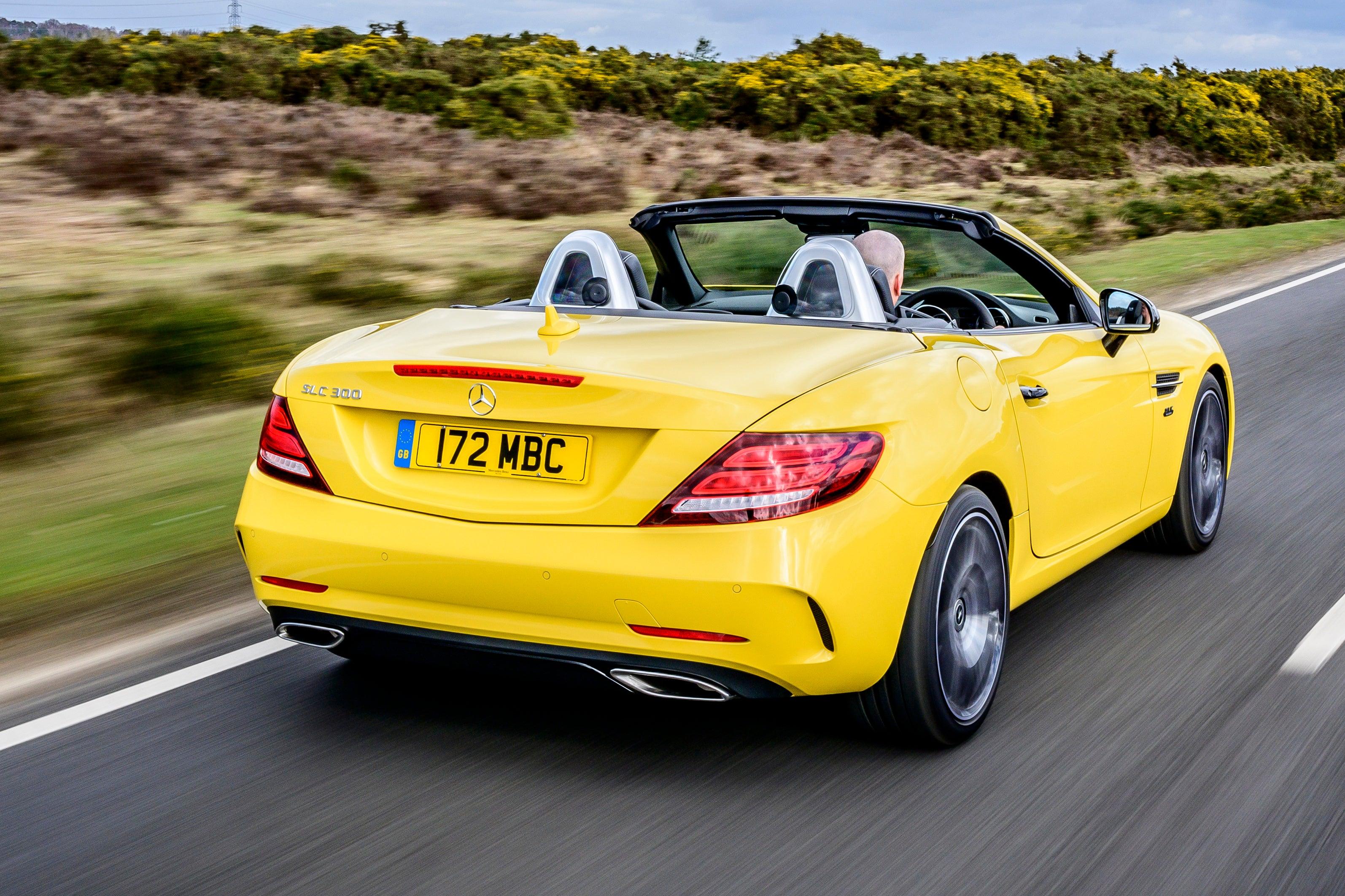 Mercedes SLC rear exterior