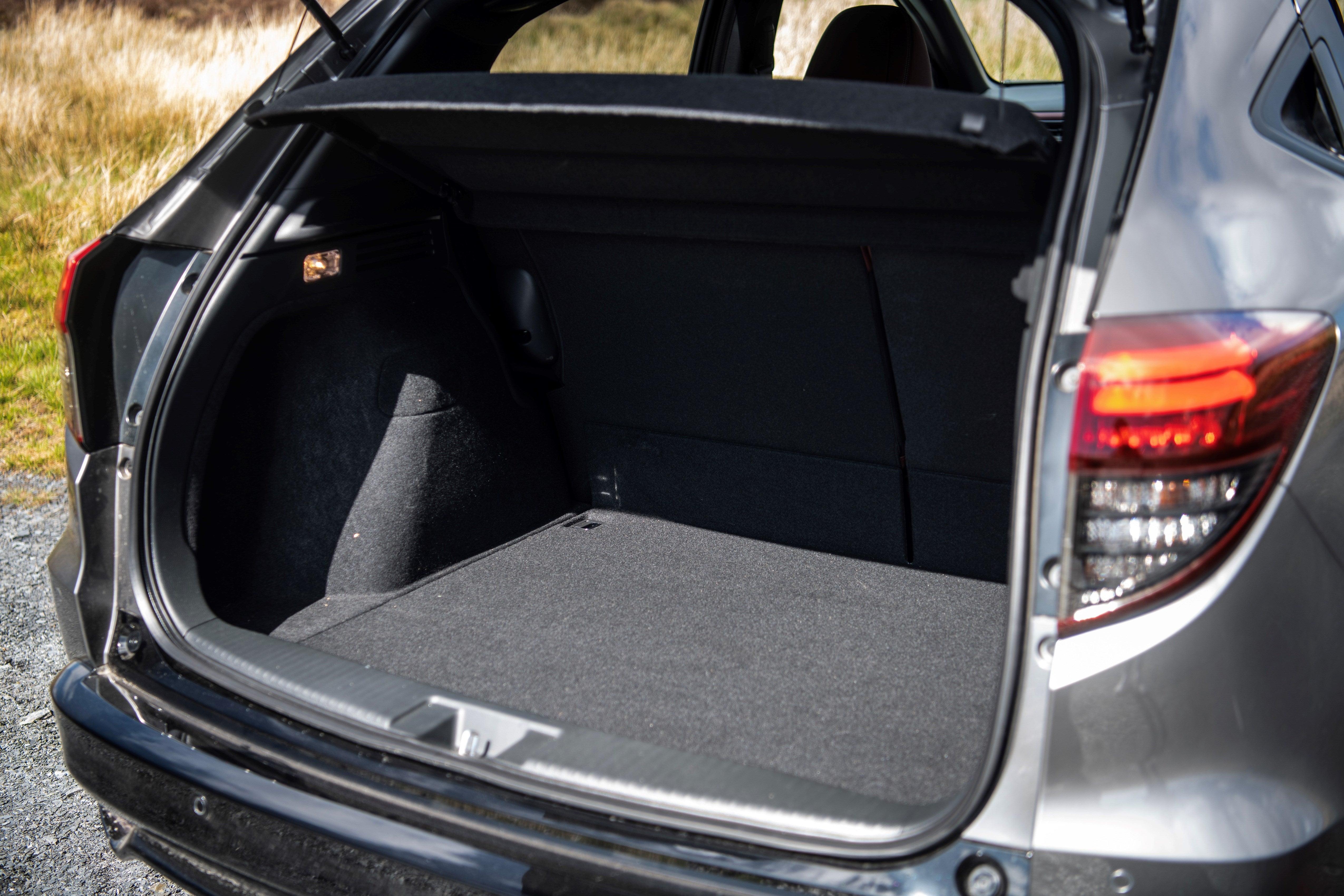 Honda HR-V boot open