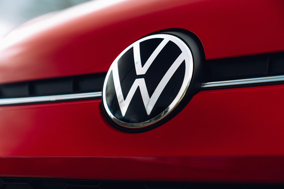 Volkswagen badge new