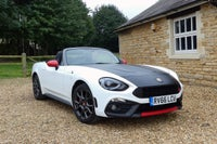 Abarth 124 Spider front
