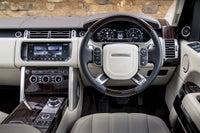 Range Rover  front interior