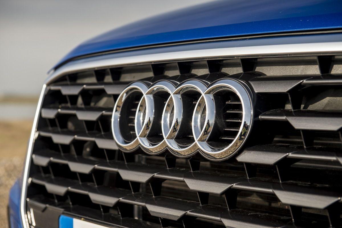 Audi Q2 grille badge