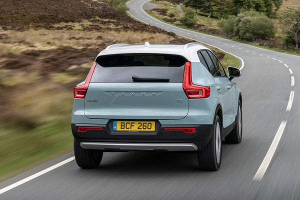 Volvo XC40 Rear View