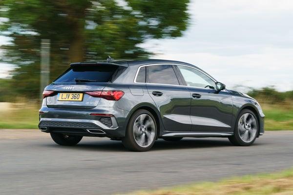 Audi A3 Sportback corner
