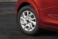 Kia Picanto Review 2021 front left wheel