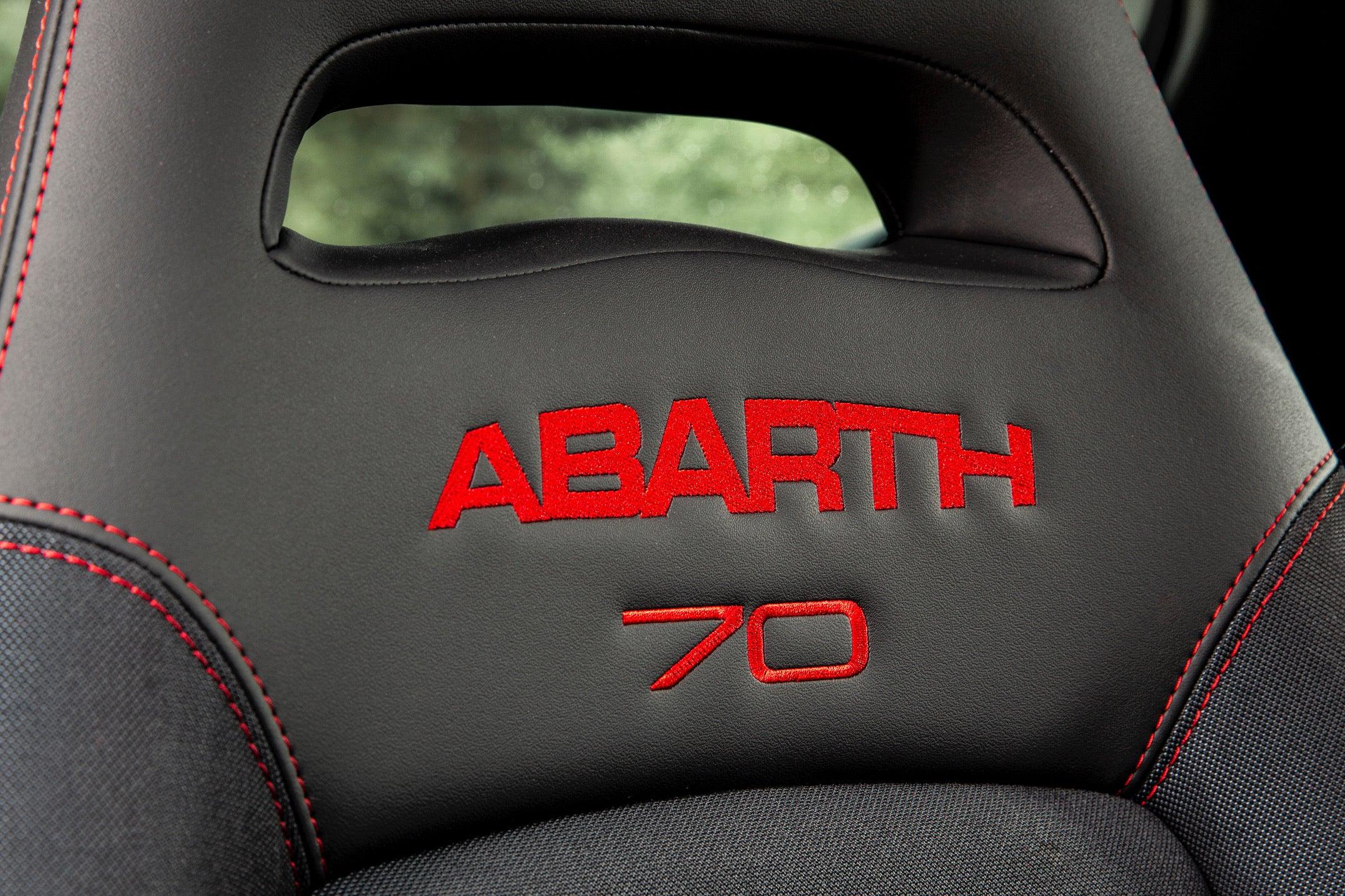 Abarth 595 Seat