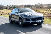 Porsche Cayenne Coupe Side Front View