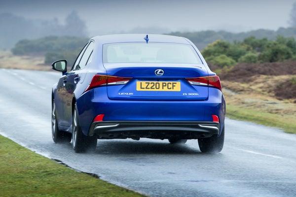 Lexus IS rear exterior