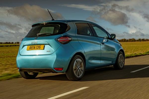 Renault Zoe Side Rear View