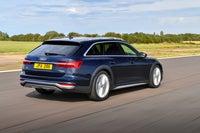 Audi A6 Allroad Driving Back