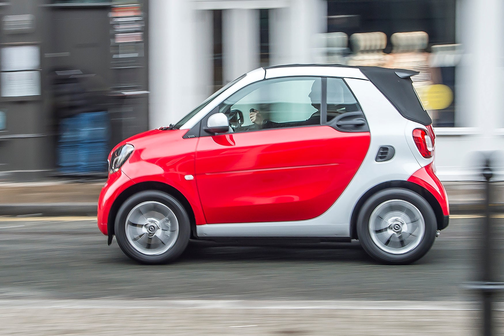 Smart Fortwo Cabriolet Left Side VIew