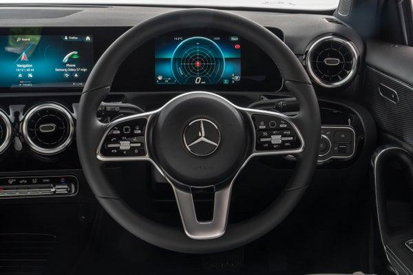 Mercedes A-Class 2018 steering wheel