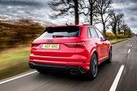 Audi RS Q3 Driving Back