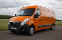 Vauxhall Movano Front Side View