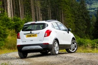 Vauxhall Mokka X Rear Side View