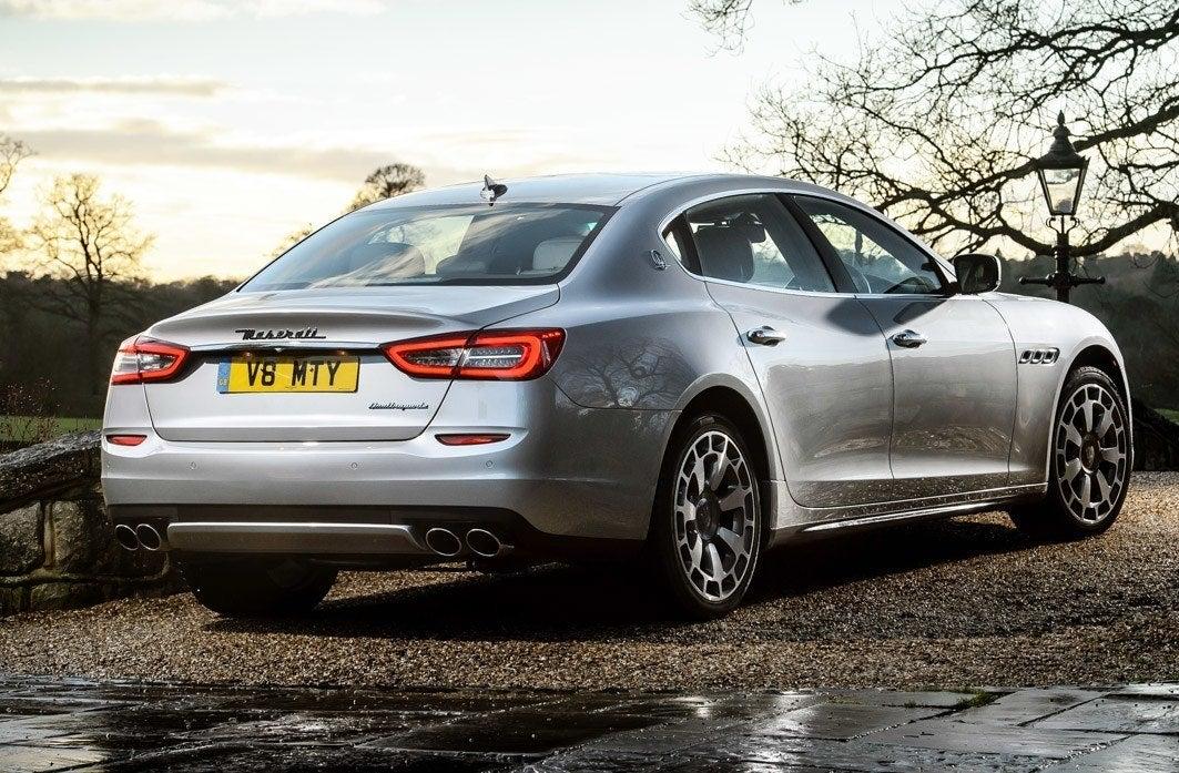 Maserati Quattroporte backright exterior