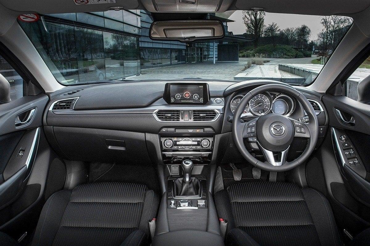 Mazda 6 Tourer front interior