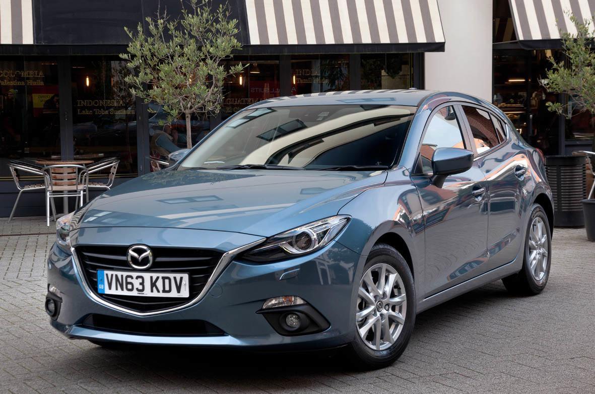 Mazda 3 2014 front