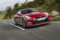 Nissan GT-R  frontright exterior