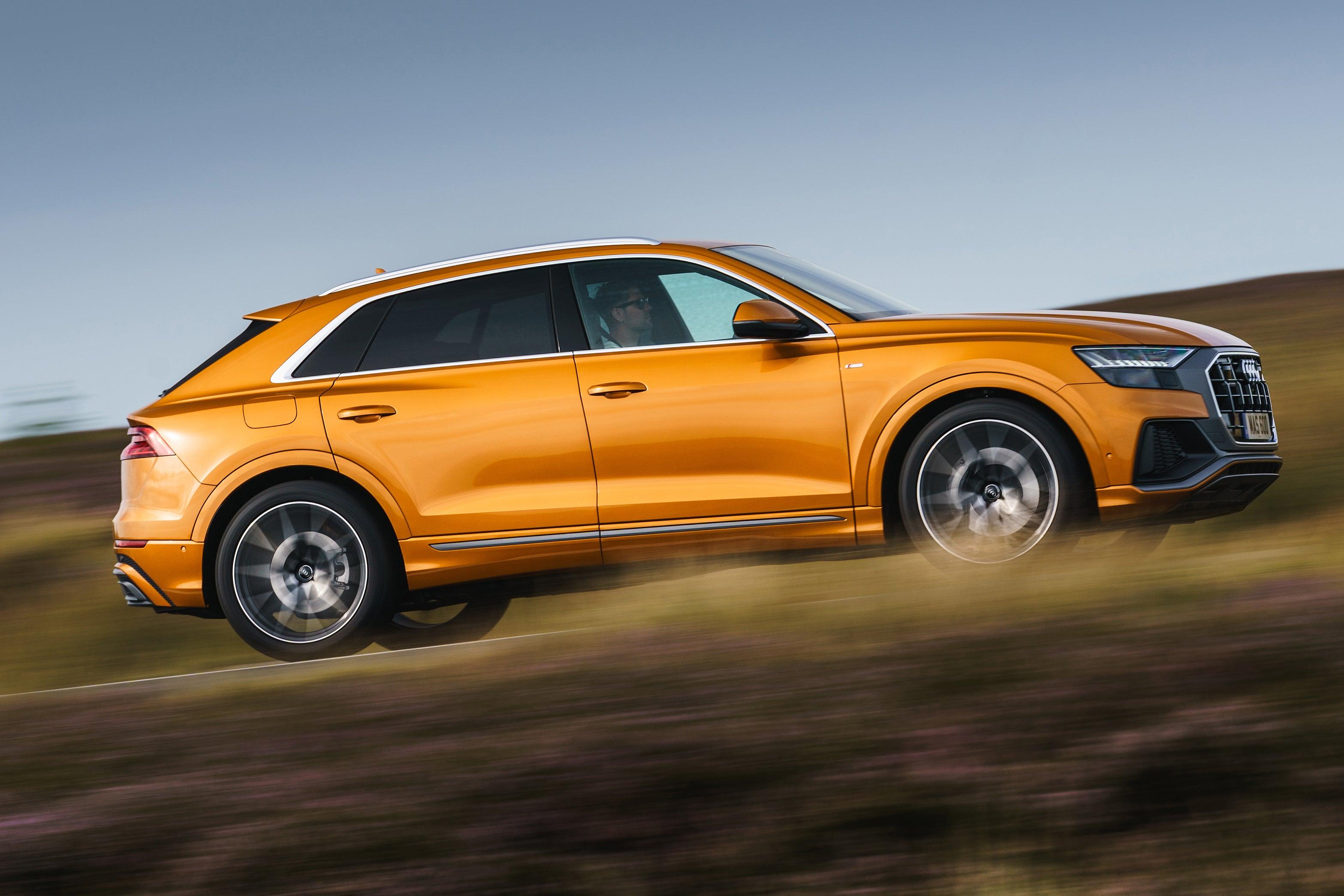 Audi Q8 Driving Side