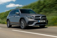 Mercedes GLB on road
