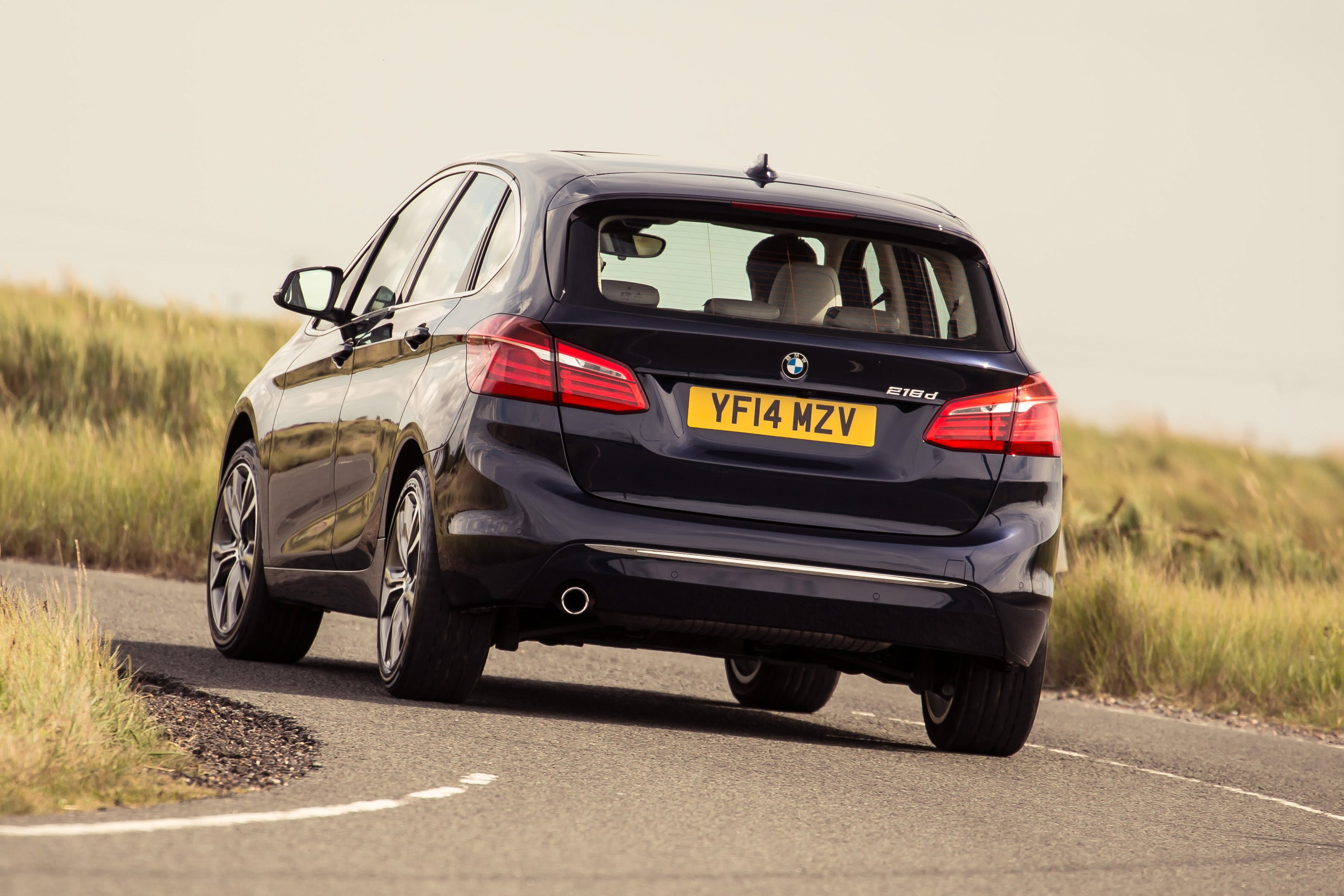 BMW 2 Series Active Tourer Driving Back