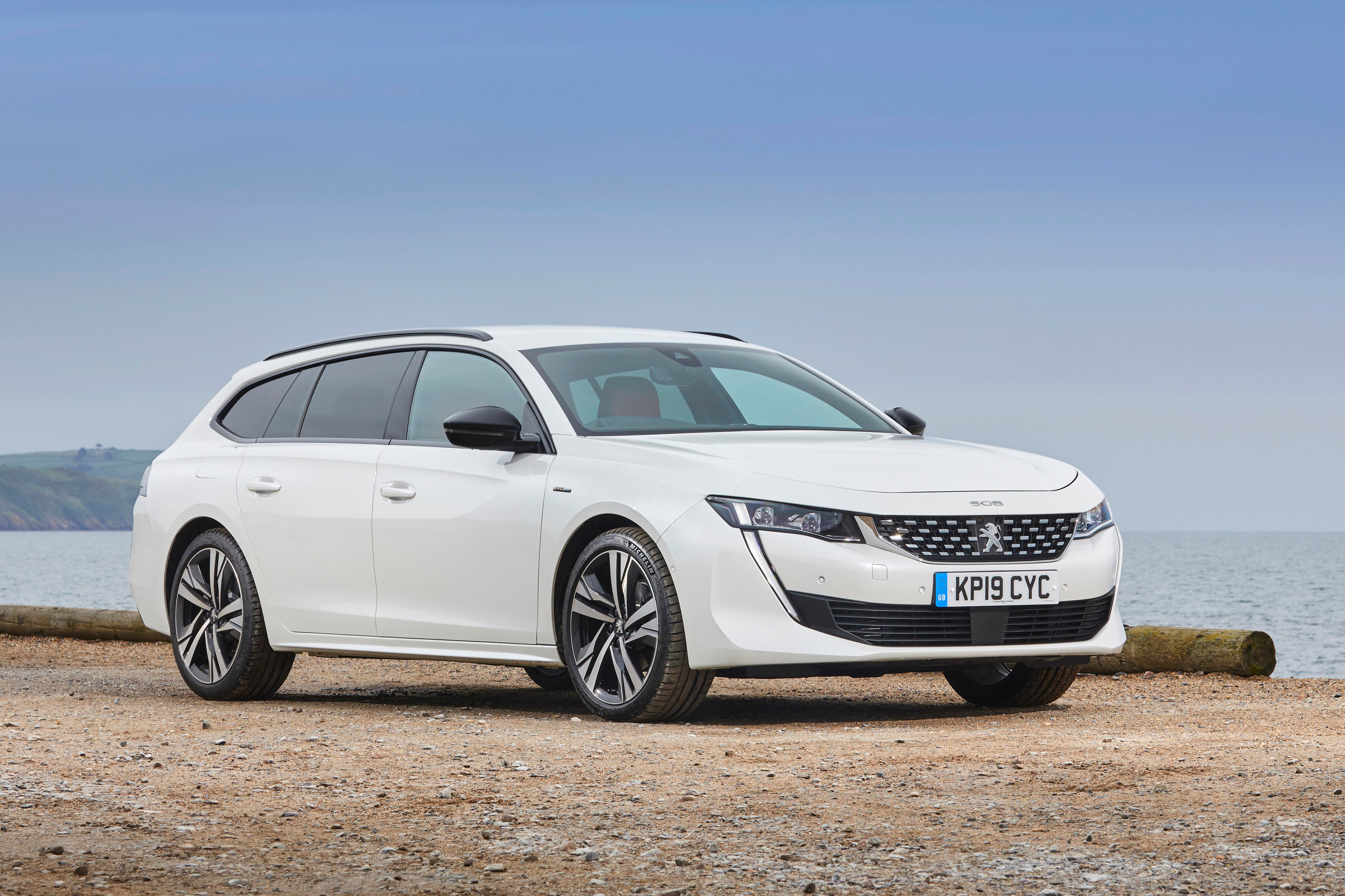 Peugeot 508 SW Right Side View