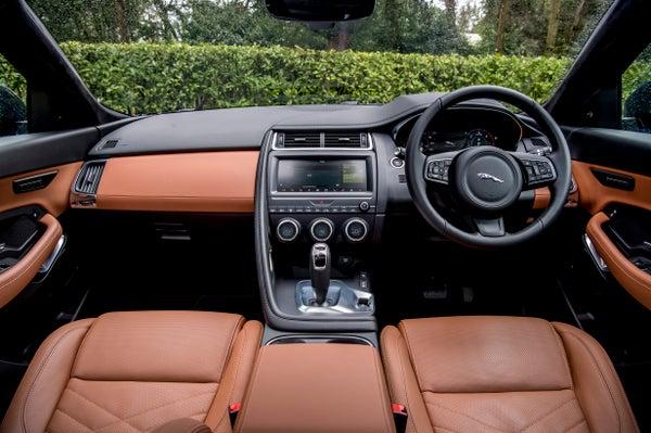 Jaguar E-Pace front interior