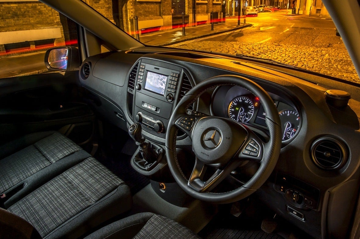 Mercedes-Benz Vito interior