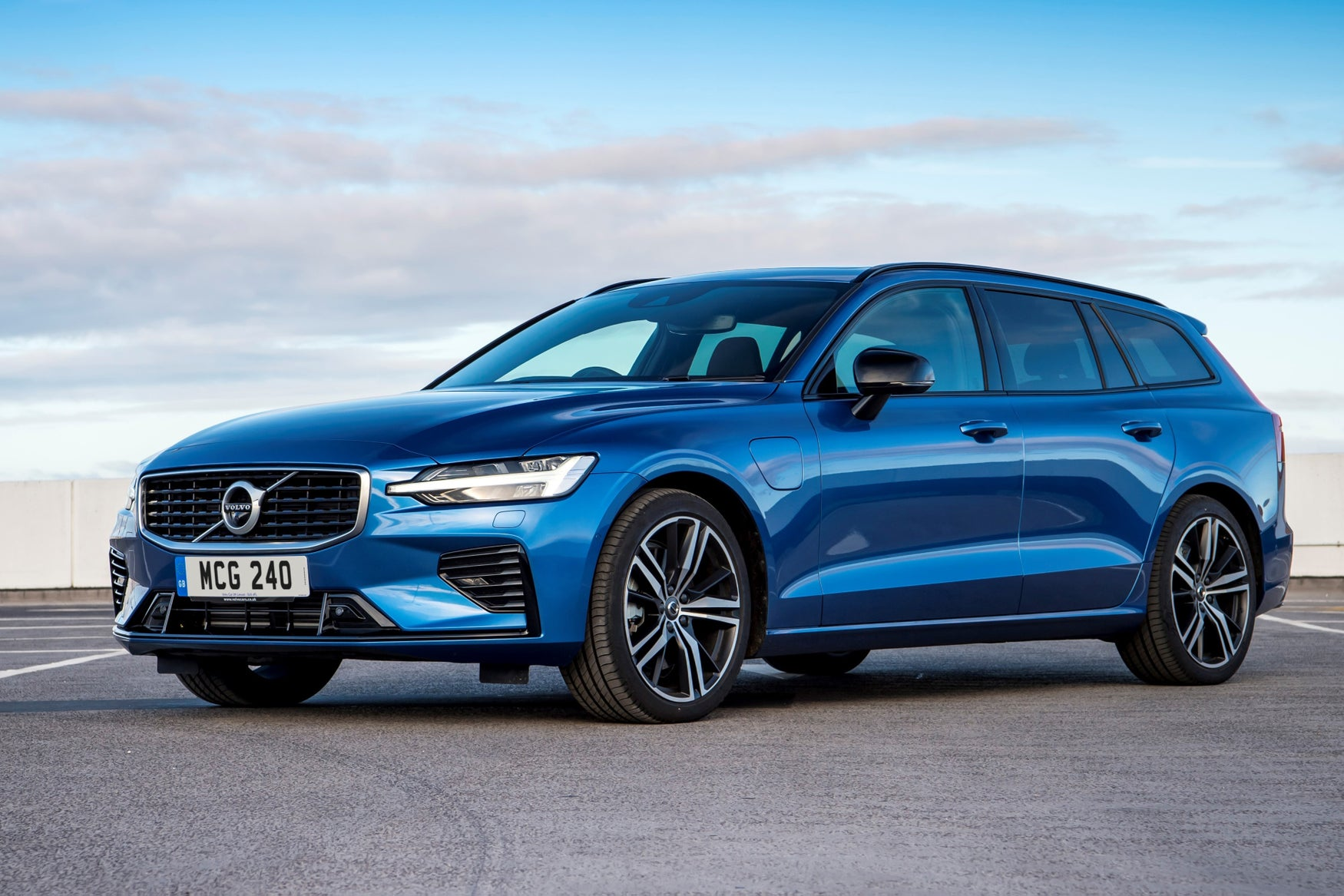 Volvo V60 Front Side View