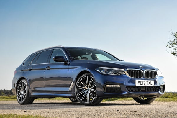 BMW 5 Series Touring Exterior Front