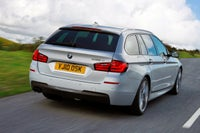BMW 5 Series Touring Driving Back