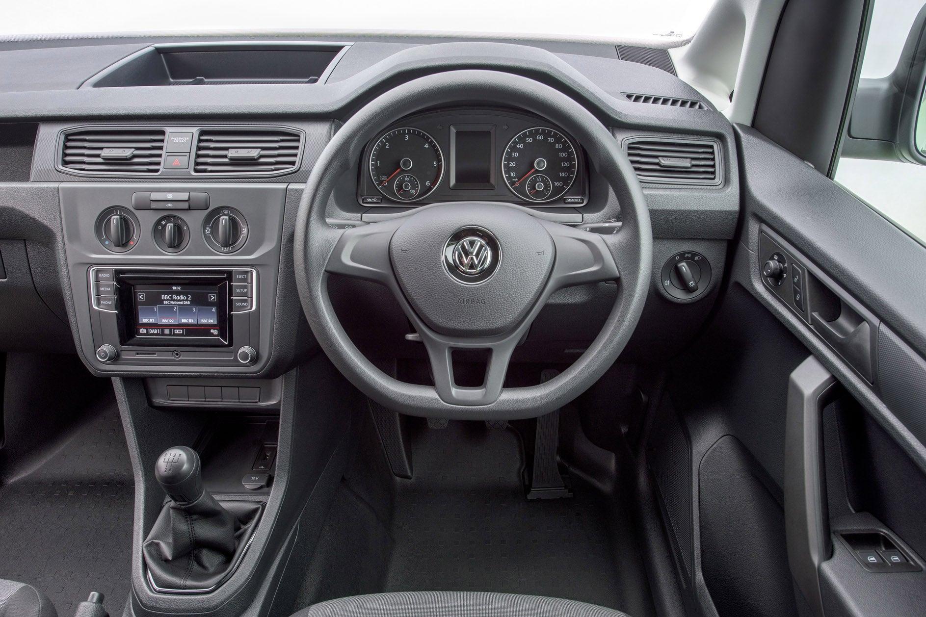 Volkswagen Caddy Front Interior
