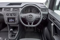 Volkswagen Caddy Front Interior