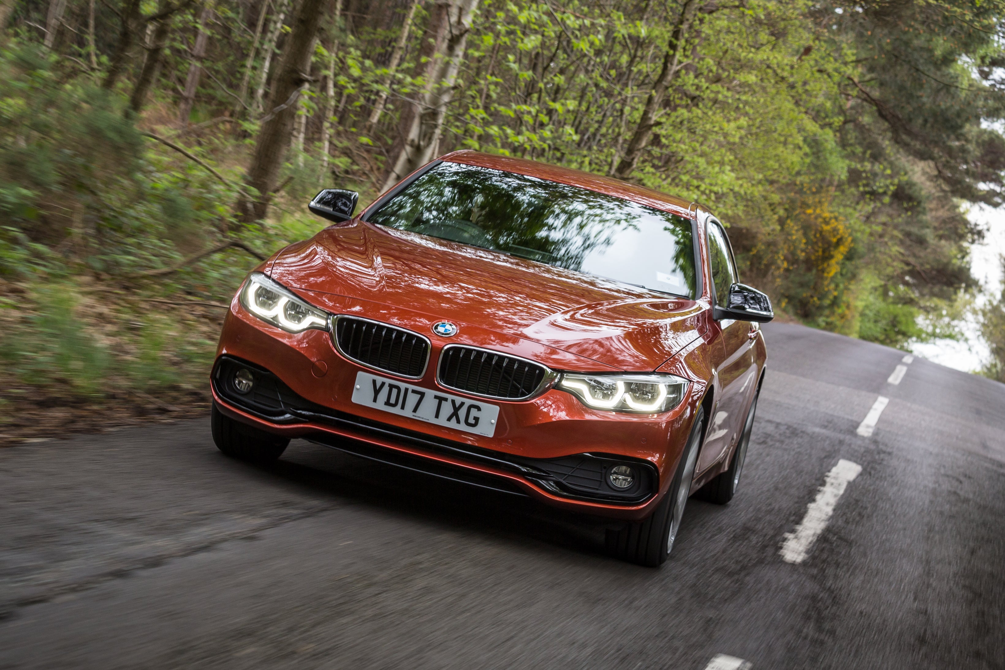 BMW 4 Series Driving Front