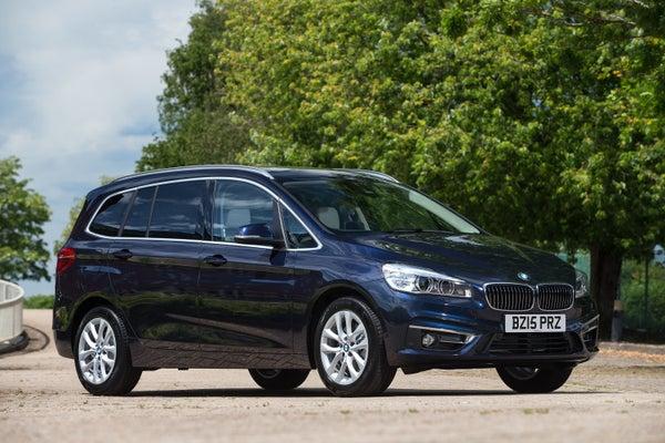 BMW 2 Series Gran Tourer Exterior Front