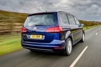 Volkswagen Sharan Rear View
