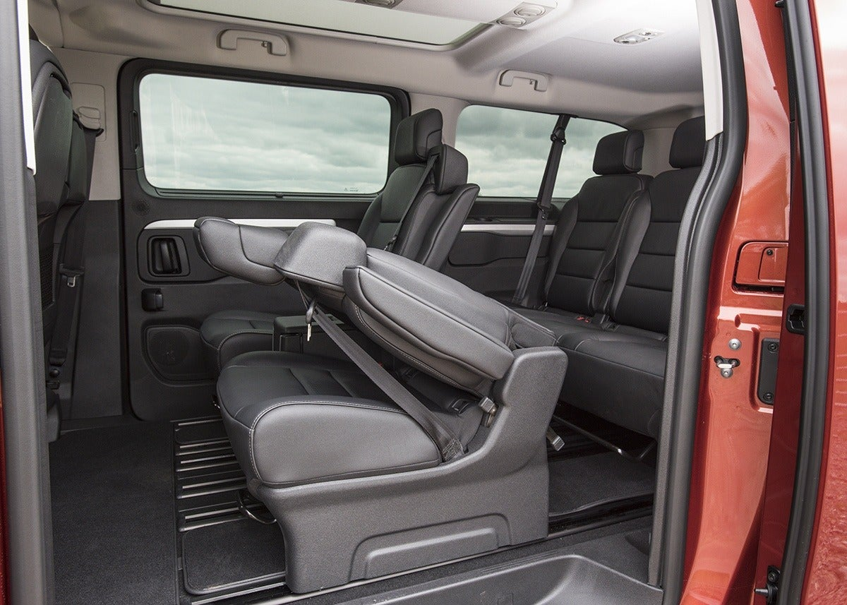 Vauxhall Vivaro Life Back Car Seats