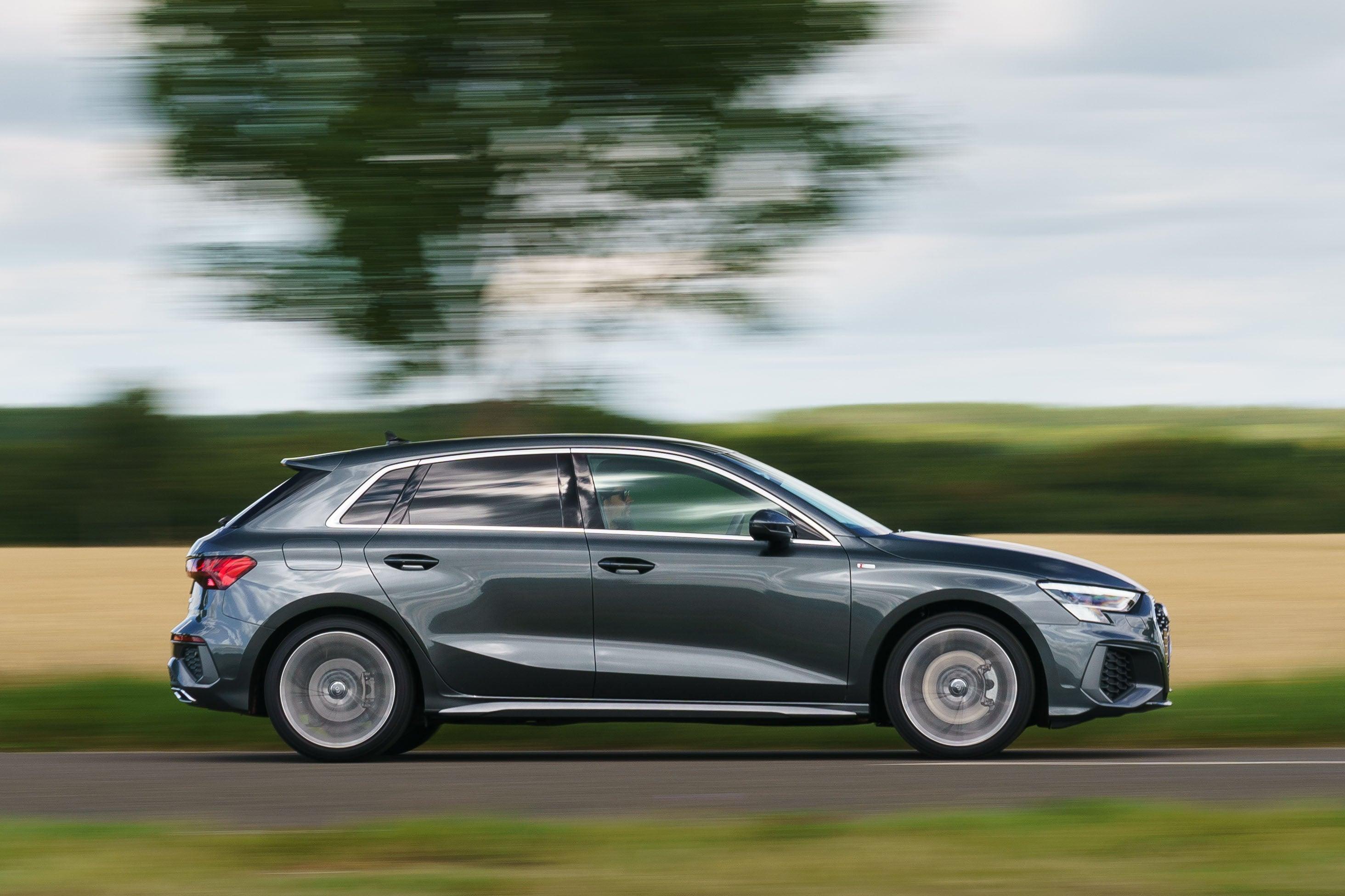 Audi A3 Sportback profile