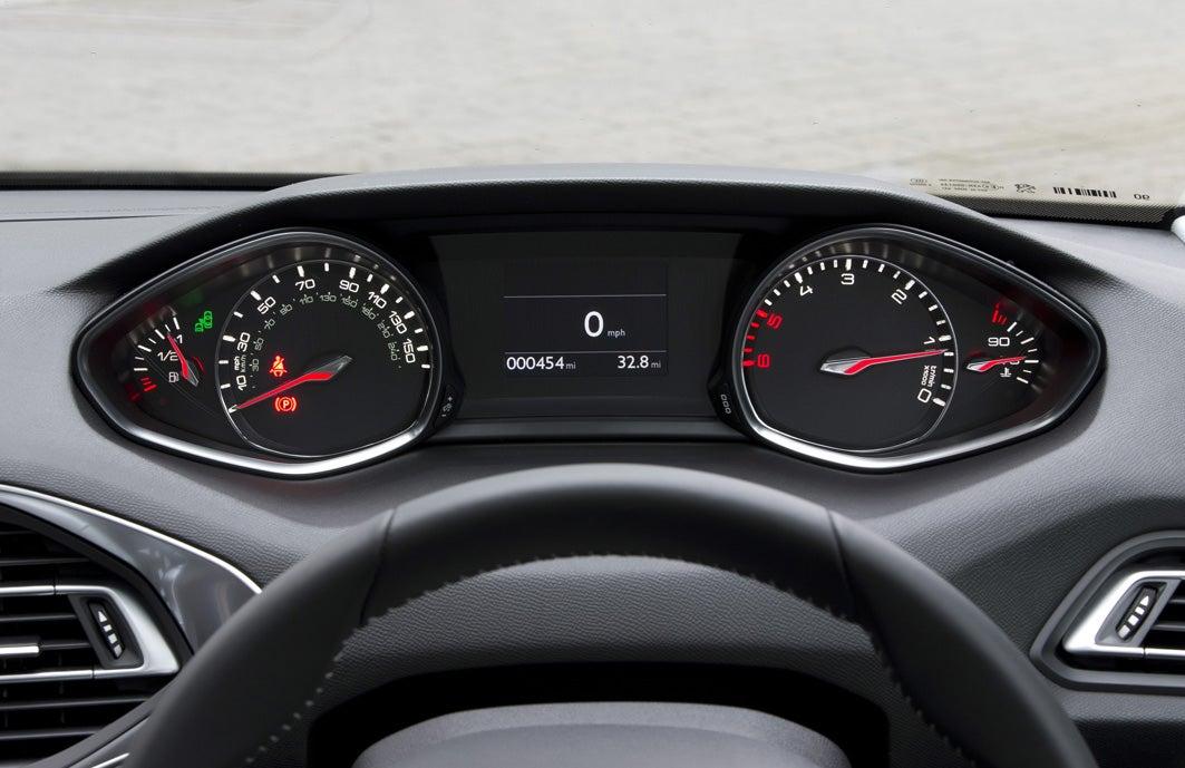Peugeot 308 Dashboard