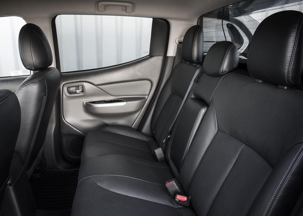 Fiat Fullback Back Seat